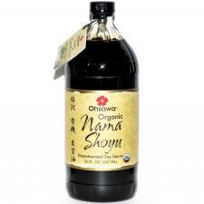 organic nama shoyu soy sauce