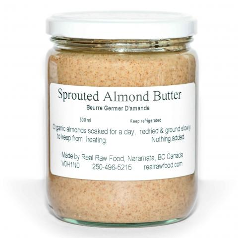 sprouted almond butter